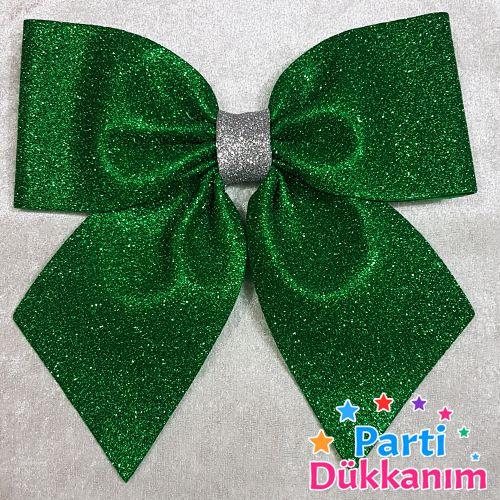 Yeşil Fiyonk Simli Eva Süs (20x22 cm), fiyatı