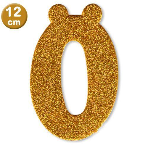Simli Eva Harf ve Rakam GOLD (12 cm), fiyatı