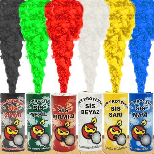 Sis Bombası 5 Renk Seçeneği, fiyatı