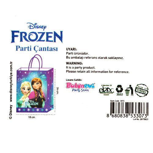 Frozen Kağıt Hediye Çantası 1 adet (18x24), fiyatı