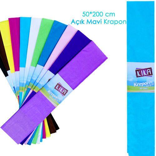 Krapon Kağıdı Açık Mavi 1 Adet, fiyatı