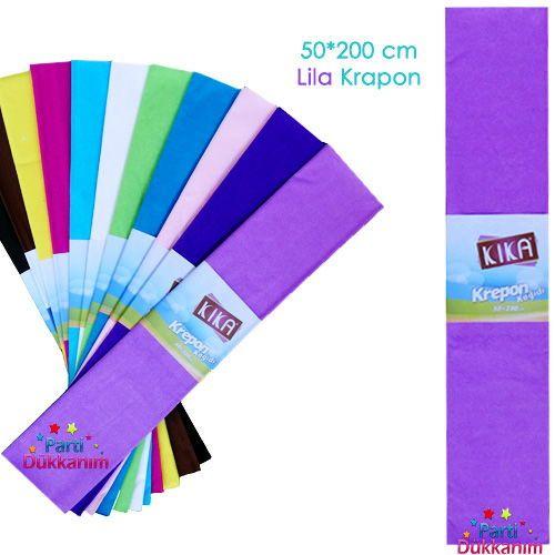 Krapon Kağıdı Lila 1 Adet, fiyatı