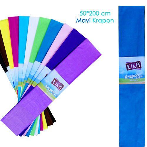 Krapon Kağıdı Mavi 1 Adet