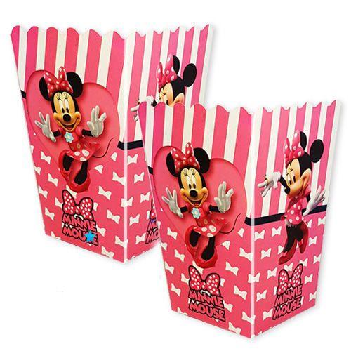 Minnie Mouse Mısır Kutusu (8 adet), fiyatı