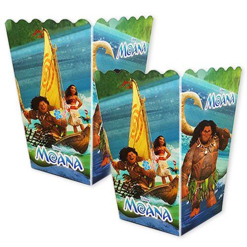 Moana Popcorn Kutusu (10 adet)