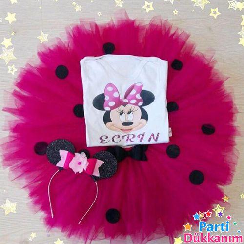 Minnie Mouse Tütü Etek Takımı, fiyatı