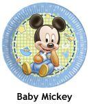 Baby mickey mouse parti malzemeleri