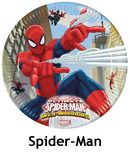Spiderman Parti Konsepti