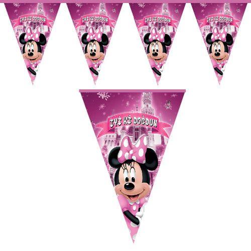 Minnie Mouse flama bayrak