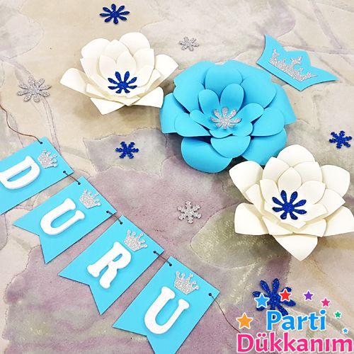 frozen kağıt çiçek modelleri