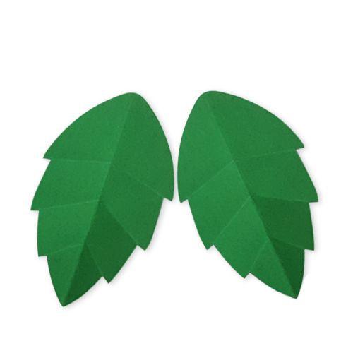 yeşil kağıt yaprak