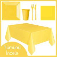sarı parti seti