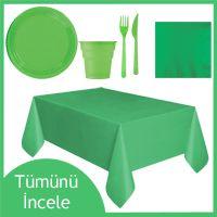 yeşil parti seti