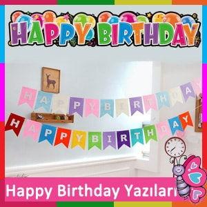Happy Birthday İyiki Doğdun yazıları