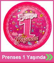 Prenses 1 Yaşında Parti Malzemeleri