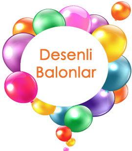 Desenli Balonlar