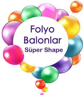 Folyo balonlar Supershape