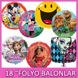 Folyo Balonlar 18 İnc