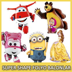 Folyo balonlar Supershape