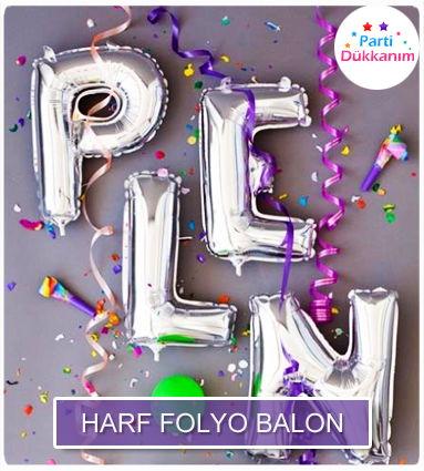 harf folyo balonlar