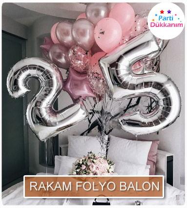 Rakam Folyo Balon Çeşitleri fiyatları