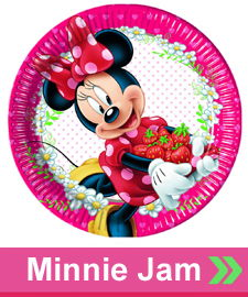 Minnie Mouse Jaw Parti Konsepti