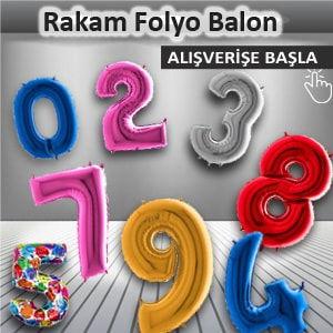 Rakam Folyo Balon Çeşitleri fiyatları nerede satılır rakam balonlar en ucuz