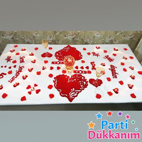 Romantik love Aşk süsleri