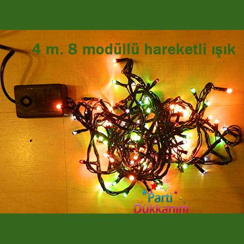 4 m. Hareketli, 8 modda Ayarlanabilir Işık