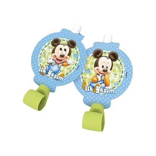 1 Yaş Baby Mickey Mouse düdük