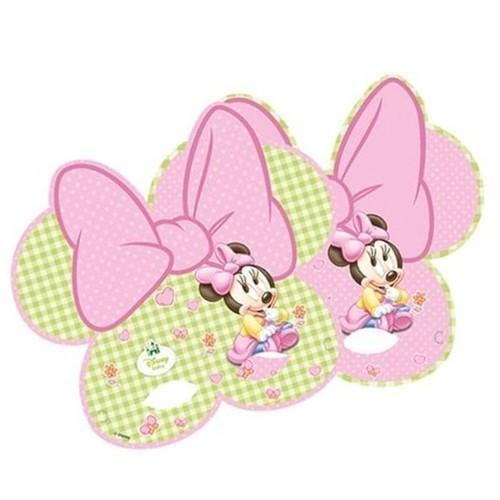 1 Yaş Baby Minnie Mouse maske