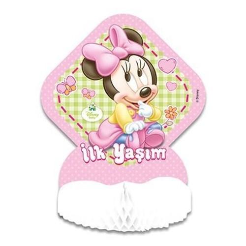1 Yaş Baby Minnie Mouse orta süsü