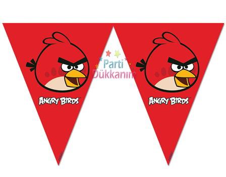 Angry Birds flama bayrak