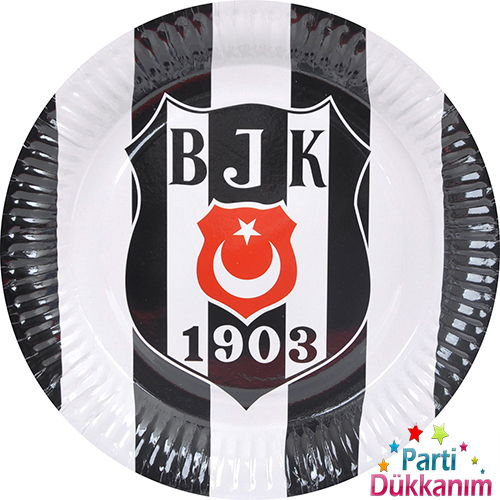 Beşiktaş karton tabak