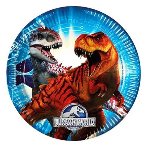 Dinosaur Tabak 8  adet