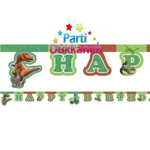 The Good Dinosaur happy birthday yazısı