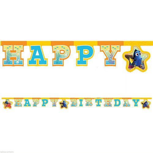 Dory Happy Birthday yazısı