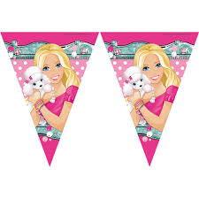 Barbie flama bayrak
