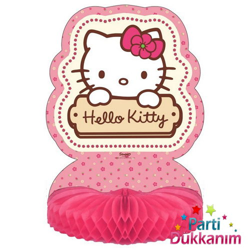 Hello Kitty masa orta süsü