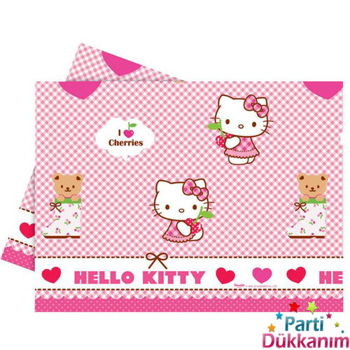 Hello Kitty masa örtüsü