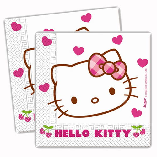 Hello Kitty peçete