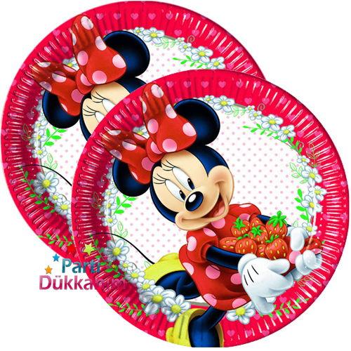 Minnie mouse jam tabak 8 adet
