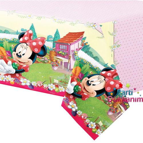 Minnie mouse jam masa örtüsü
