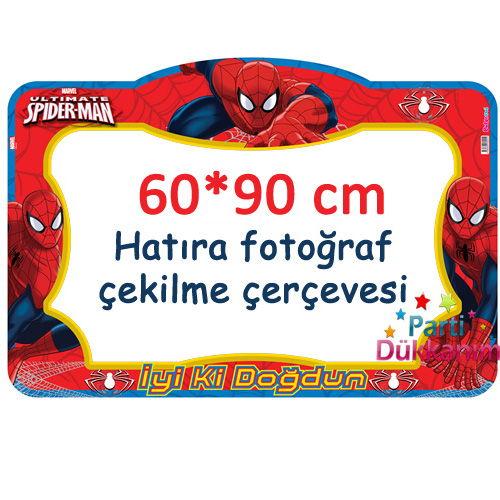 spiderman-dogum-gunu-hatira-fotograf-cekilme-cercevesi