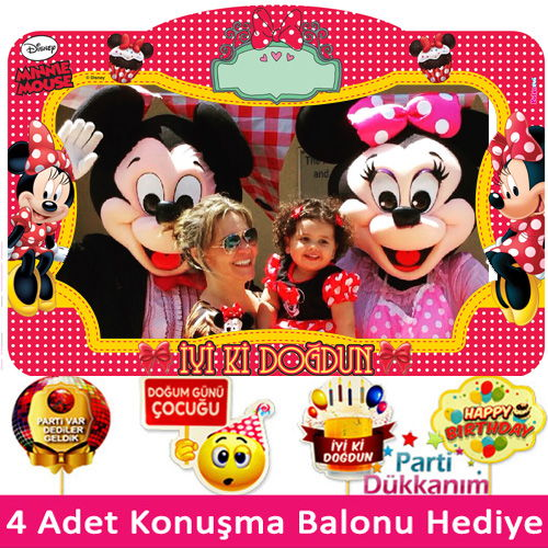 Minnie mouse Hatıra çerçeve