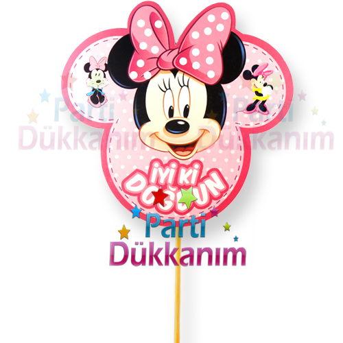Minnie Mouse Süper Parti konuşma balonu