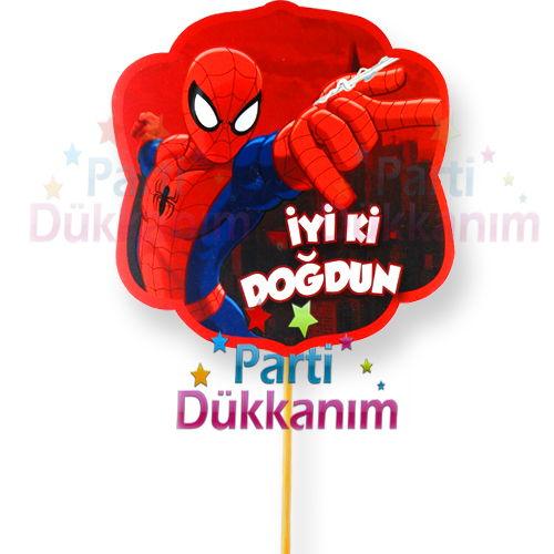 Spiderman konuşma balonu