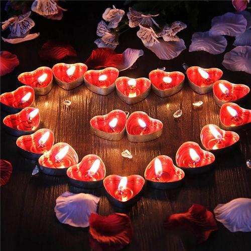 Kalpli tealight Mum 50 adet