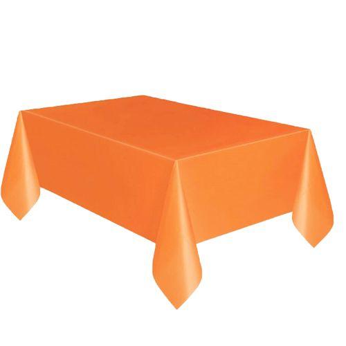 Turuncu masa örtüsü