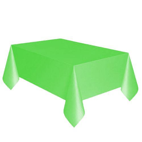 Yeşil Plastik Masa Örtüsü